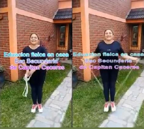Buenas prácticas: Actividades de Educación Física con Alumnos – Esc. Capitán Cáceres