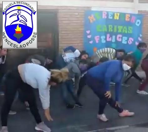 Actividad Física Solidaria, PAUSACTIVA – Esc. Wenceslao Posse