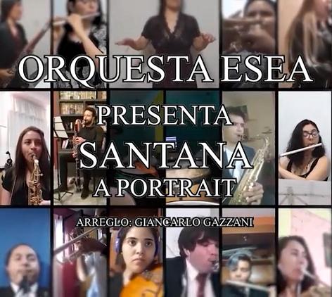 Santana – 6ta Entrega desde Casa – Orquesta de ESEA!