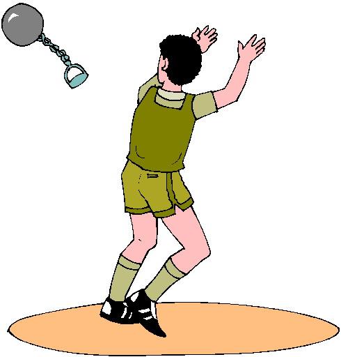 Actividades atléticas: Lanzamiento de martillo