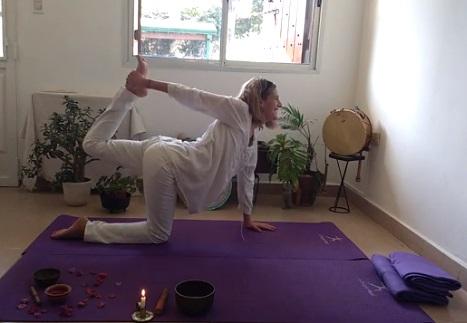 Clases de Yoga – Col. los Arcos – Jardín Quiquines